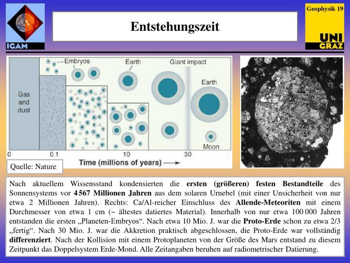 Geophysik 19