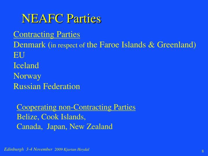 NEAFC Parties
