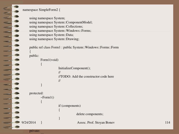 namespace SimpleForm2 {
