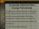 green energy parks university national park energy partnership1