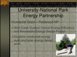 green energy parks university national park energy partnership3