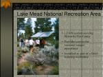 renewable energy at lake mead national recreation area