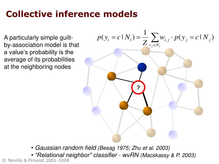 Collective inference models