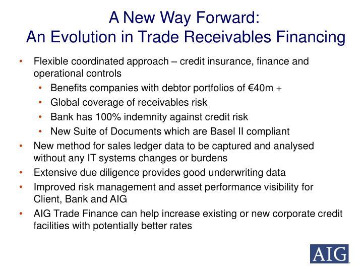 A New Way Forward: