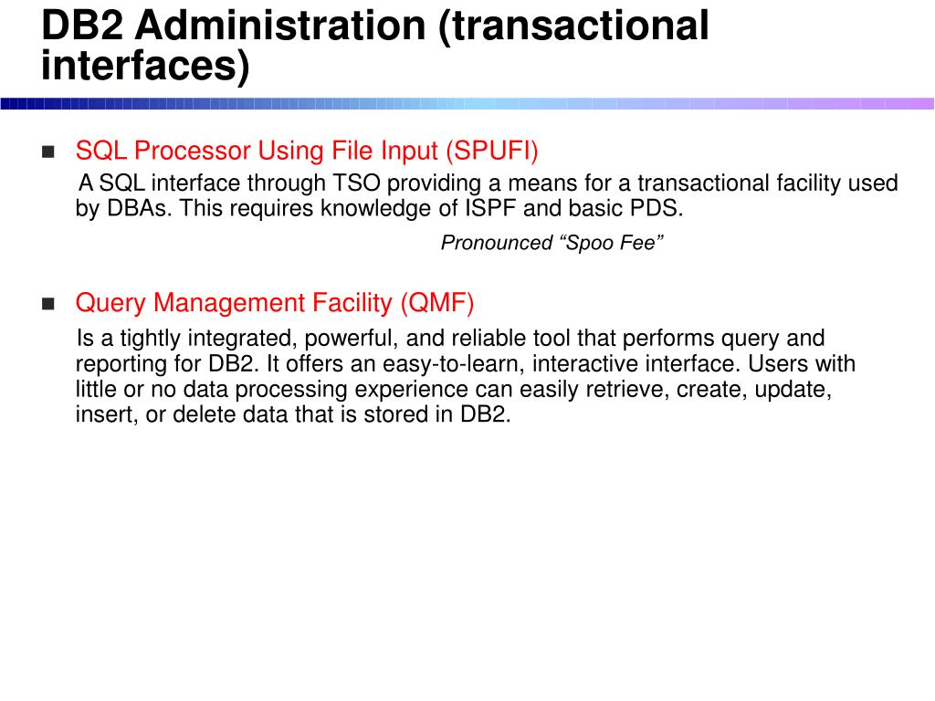 PPT - Database Management Systems on z/OS PowerPoint Presentation