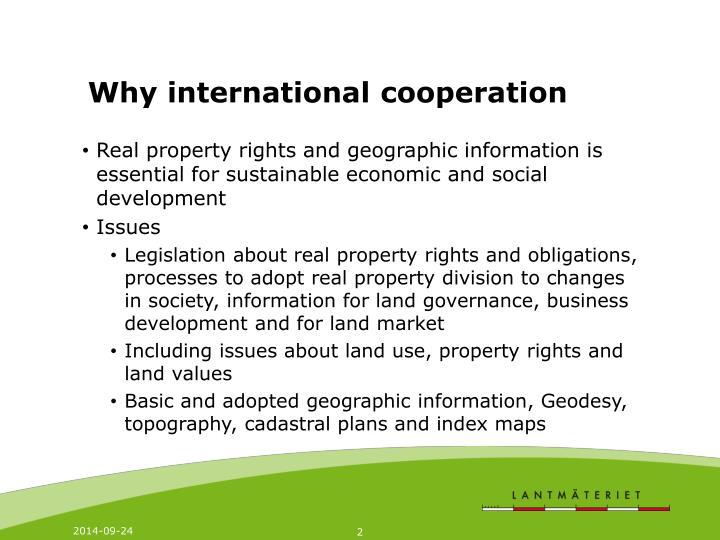 why international