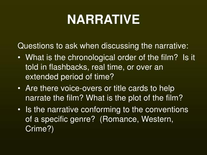 analysis of the narrative iwe re not The following are a few of the mechanisms of narrative selection for all kinds of stories, from detective fiction to scientific papers the tulip bubble story is surprising, fits together well, and is easy to remember cochrane's analysis is complex and requires us to.