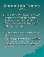 employee seeks treatment cont2