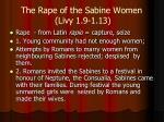 the rape of the sabine women livy 1 9 1 13