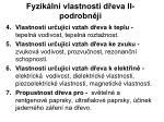 fyzik ln vlastnosti d eva ii podrobn ji1