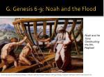 g genesis 6 9 noah and the flood
