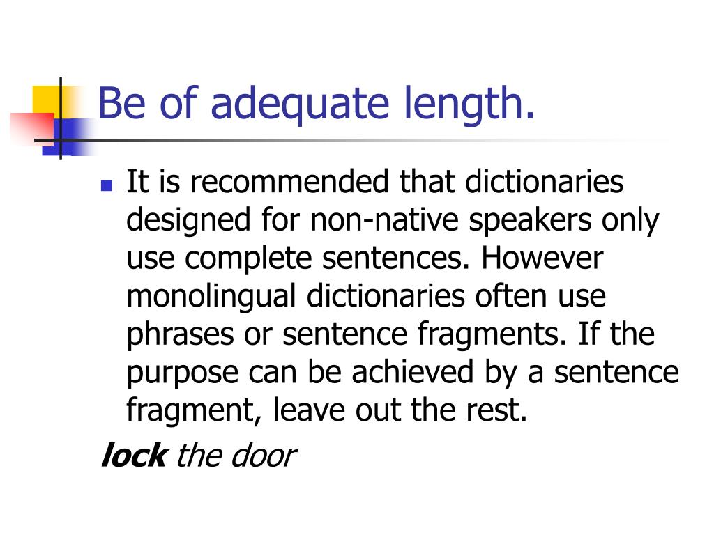 PPT - Example Sentences PowerPoint Presentation - ID:4788167