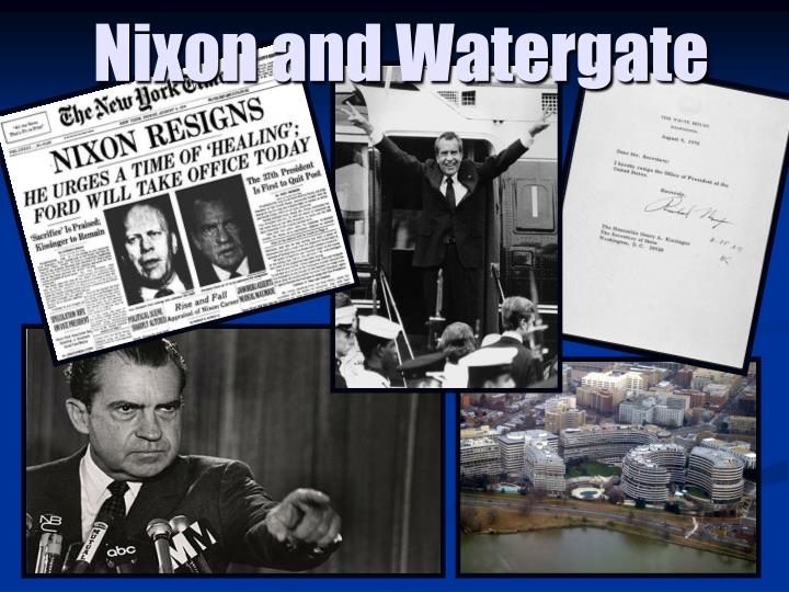 nixon and watergate President nixon had high hopes when he took office he succeeded at some of his goals, but he's most remembered for the presidential scandal watergate.