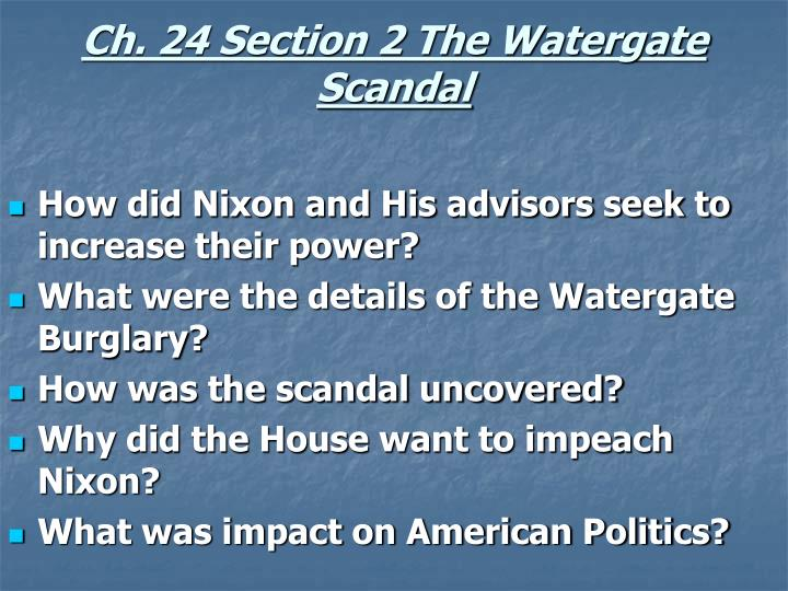 watergate and american political society The watergate scandal changed american politics forever the origins of the watergate break-in lay in the hostile political climate of the time.