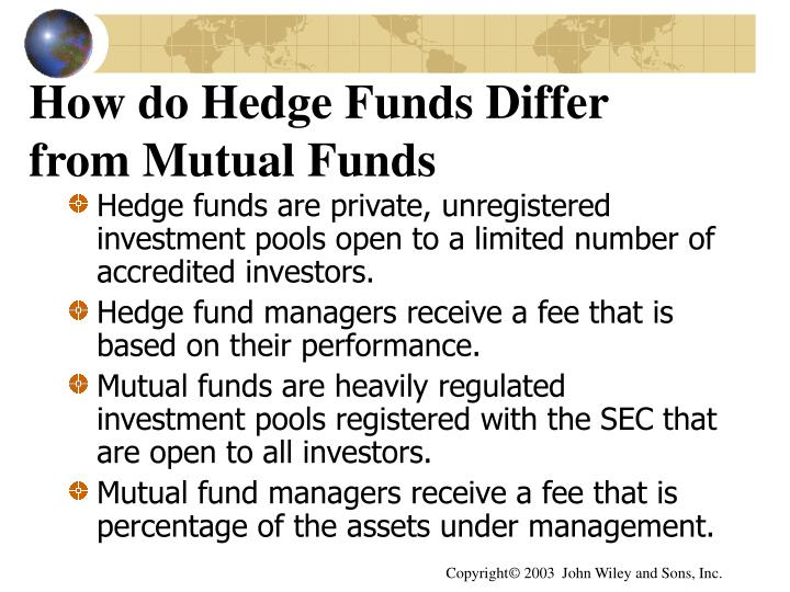 How do Hedge Funds Differ from Mutual Funds