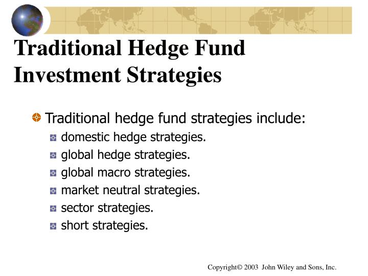 Traditional Hedge Fund Investment Strategies