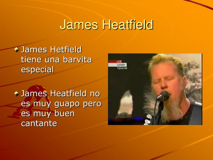 James heatfield