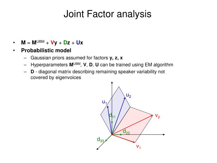 Joint Factor analysis