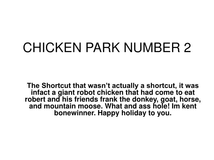 chicken park number 2 n.