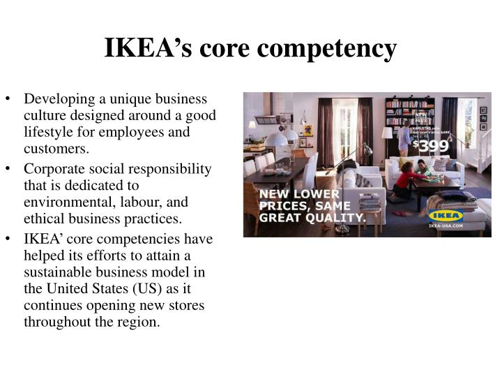 ikea core competencies