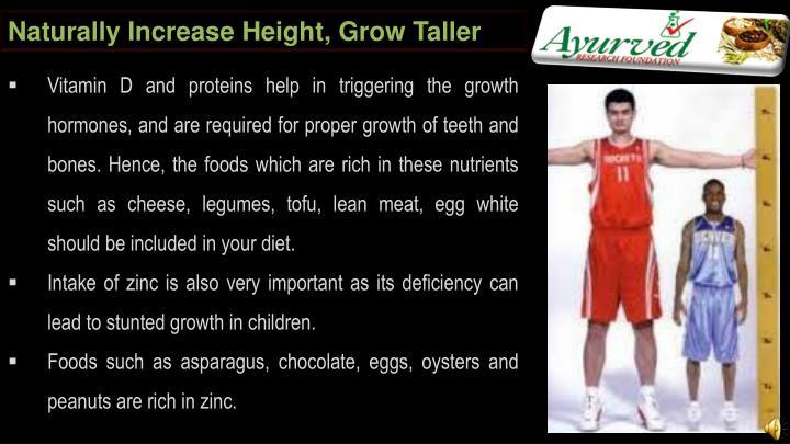 Naturally Increase Height, Grow Taller