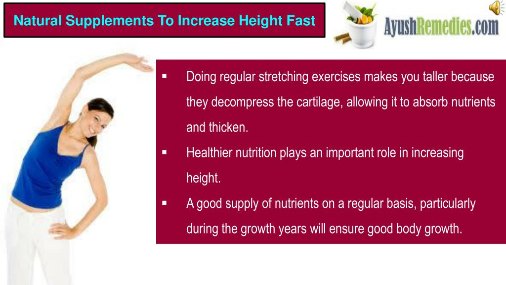 PPT - Which Are The Best Natural Products To Increase Height Fast
