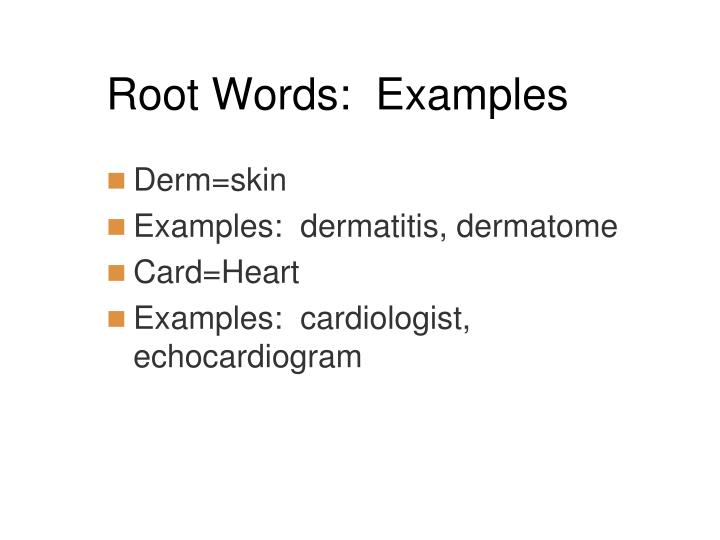 Ppt Medical Terminology Powerpoint Presentation Id4790137