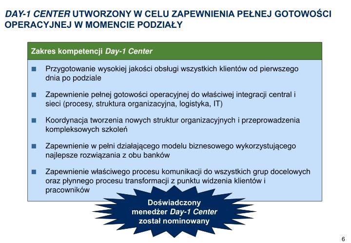 DAY-1 CENTER
