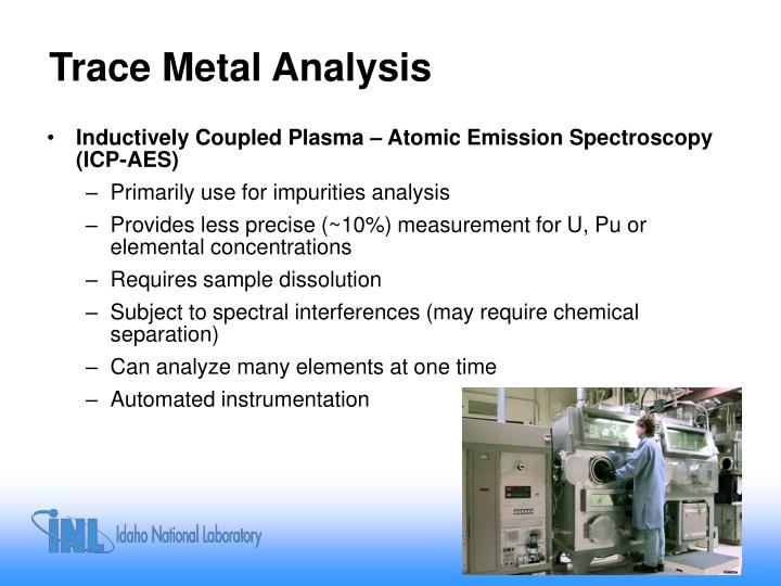 Trace Metal Analysis
