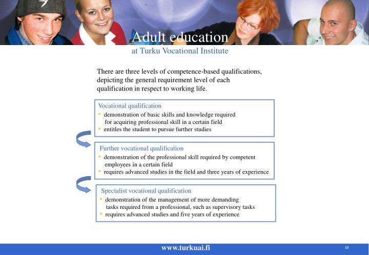 Vocational qualification
