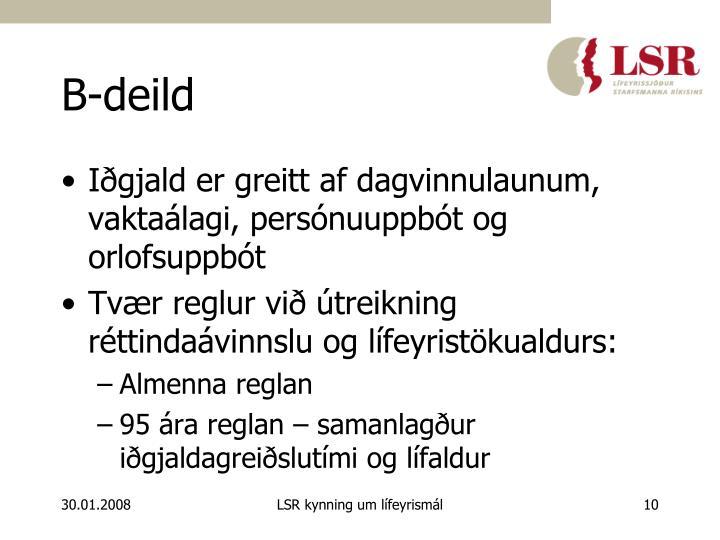 B-deild