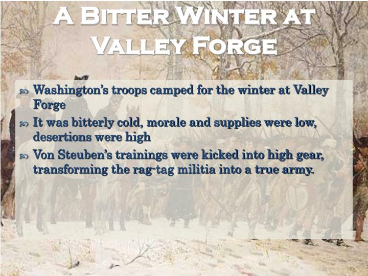 A Bitter Winter at Valley Forge