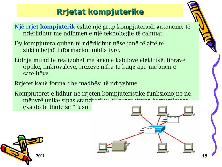 Rrjetat kompjuterike