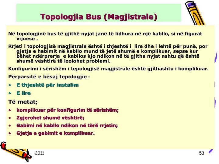 Topologjia Bus (Magjistrale)