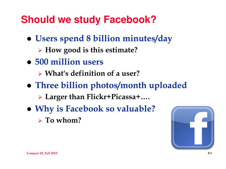 should we study facebook n.
