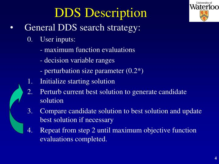 DDS Description