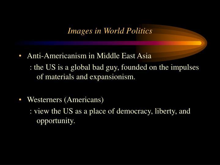 Images in World Politics