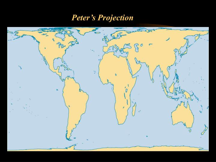 Peter's Projection