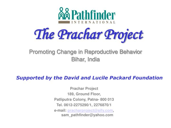 Prachar Project