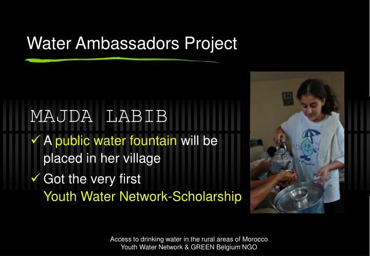 Water Ambassadors Project