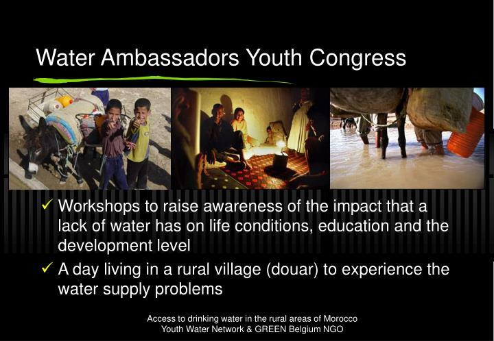 Water Ambassadors Youth Congress
