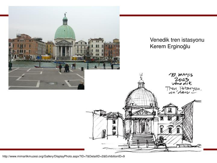 Venedik tren istasyonu