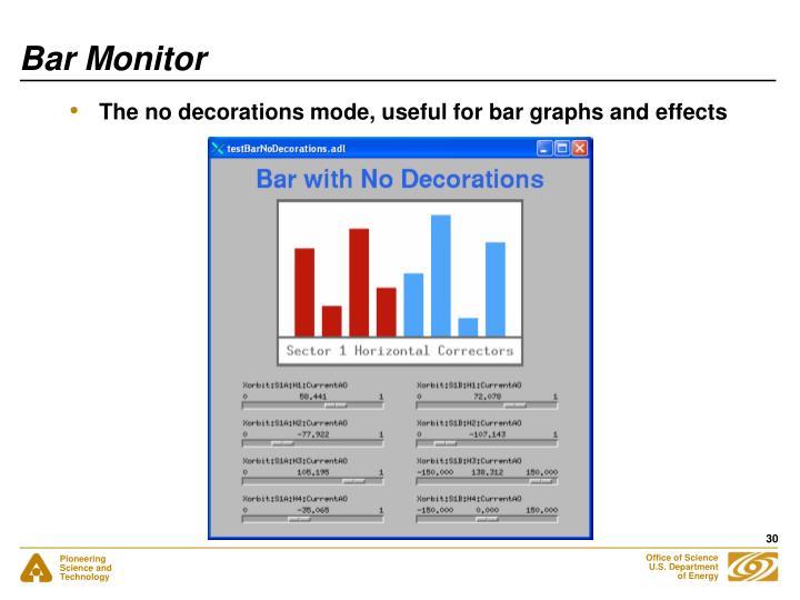 Bar Monitor