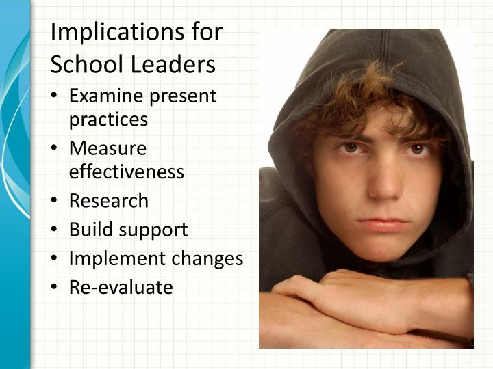 Implications for School Leaders
