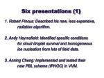 six presentations 1