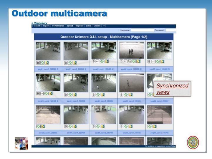 Outdoor multicamera