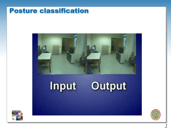 Posture classification