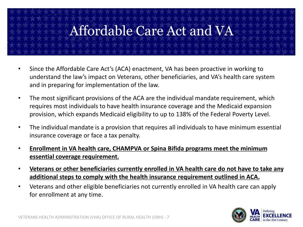 PPT - Veterans Health Administration PowerPoint Presentation