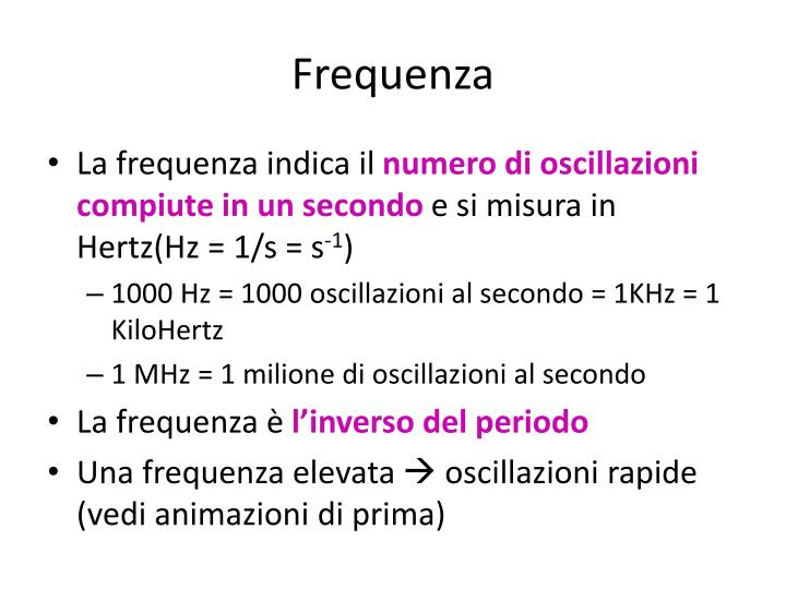 Frequenza