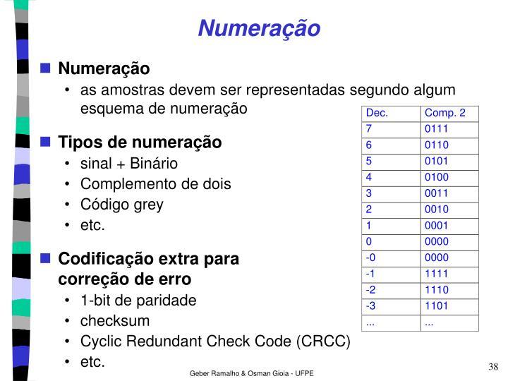 Numeração
